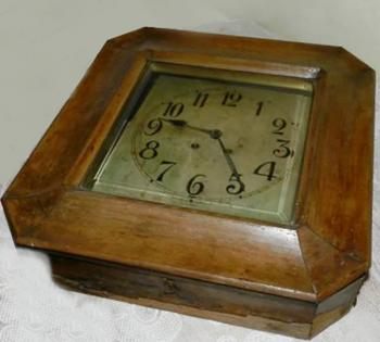 Wall Timepiece - wood - Friedrich Sitto Wien - Lenzkirch - 1930